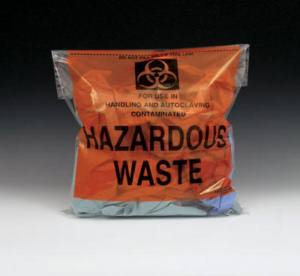 Infectious Waste Bags - فروش کیسه اتوکلاو - کیسه زباله نسوز